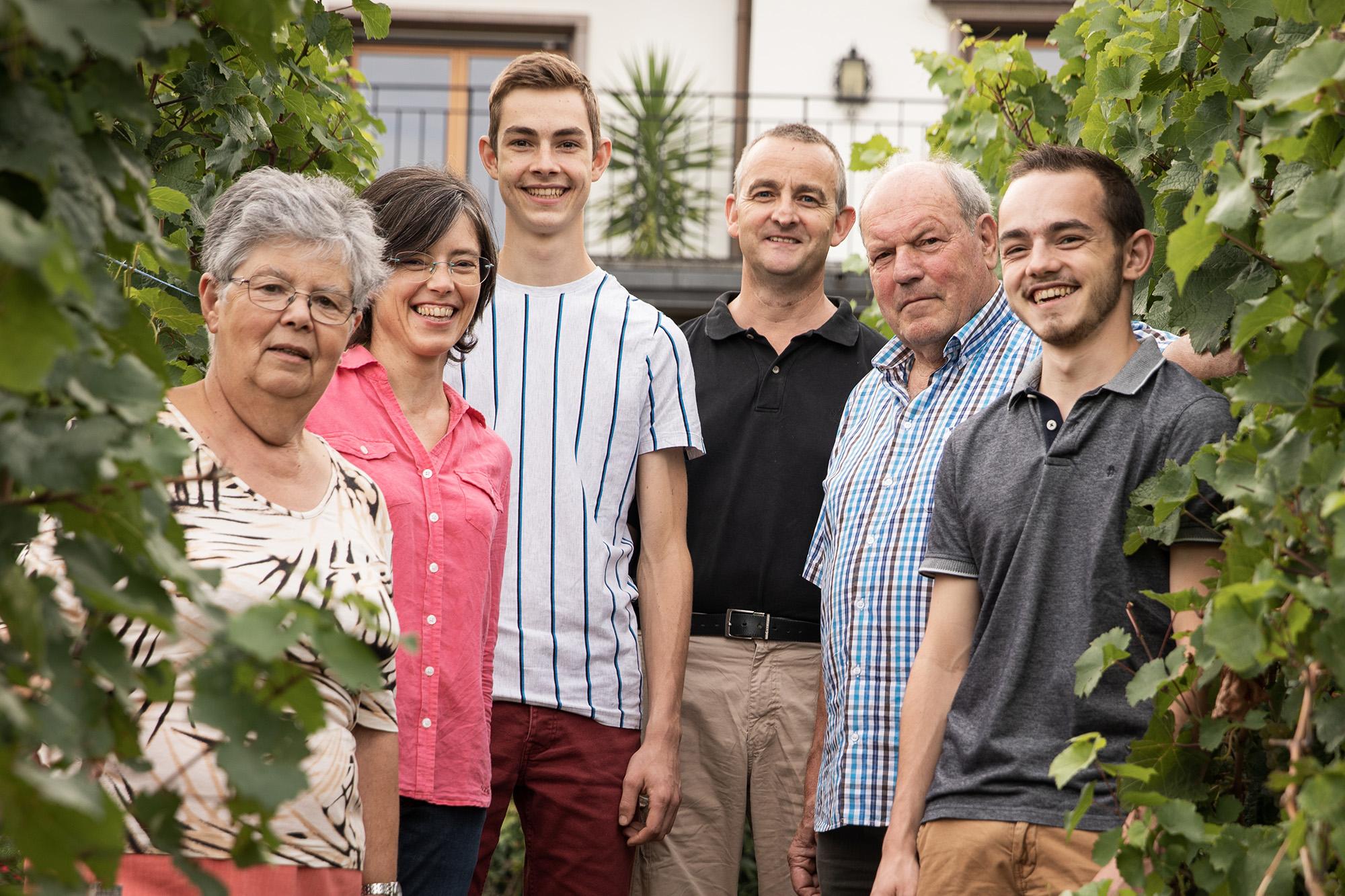 La famille Scherb