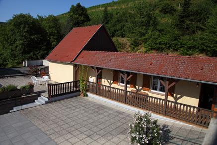 Le gîte Louis Scherb près de Colmar, Alsace